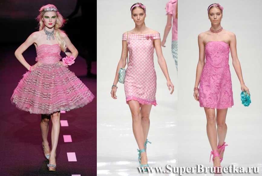 весна лето 2011 платья
