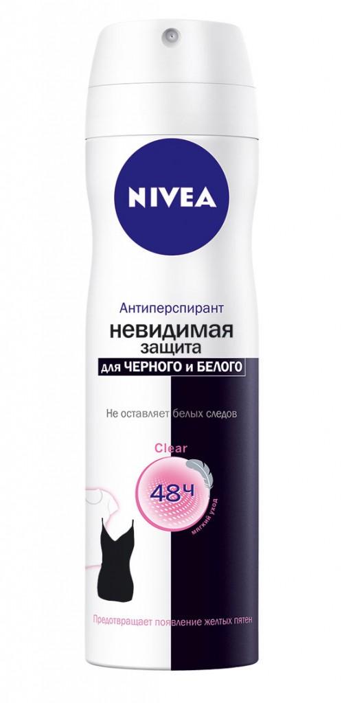 NIVEA_DEO_Nevidimaya_zazhita_dlya_chernogo_i_belogo_Clear_Spray