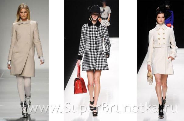 Модные пальто осень зима 2012 2013 14 фото