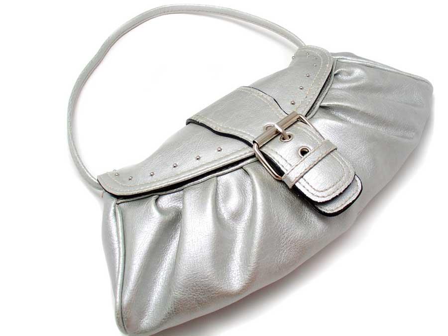 Блестящая сумка