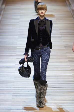 Джинсовая мода