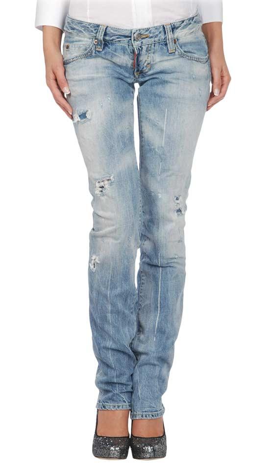 Если вы обладательница потертых джинс надевайте их скорее.  Этот гранж снова в моде.  Чем сильнее джинсы протерты...