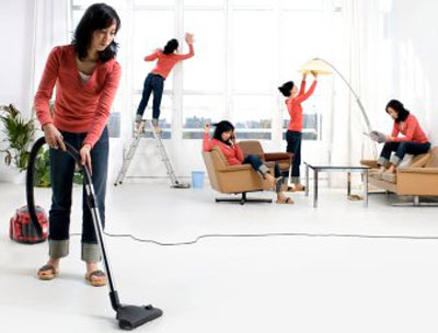 Делаем генеральную уборку дома