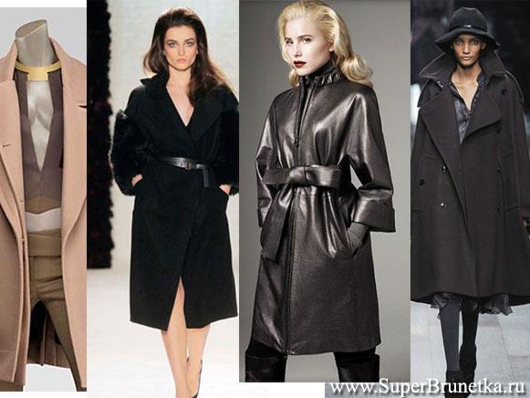 Пальто и куртки сезона осень зима 2010