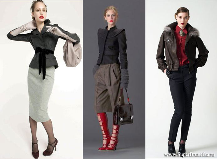 Пальто и куртки сезона осень-зима 2010/2011