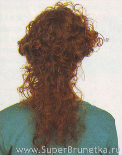 Как сделать ниспадающие локоны на длинные волосы