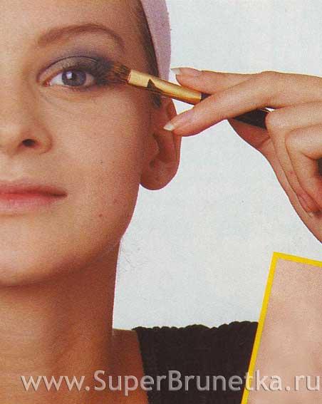 Сделать быстрый макияж