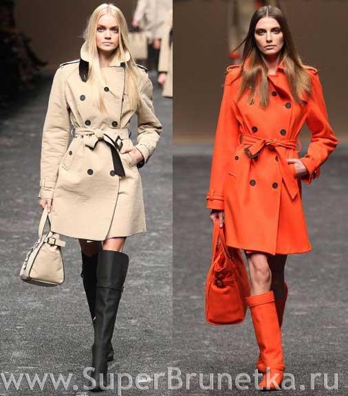 мода 2011 осень зима пальто