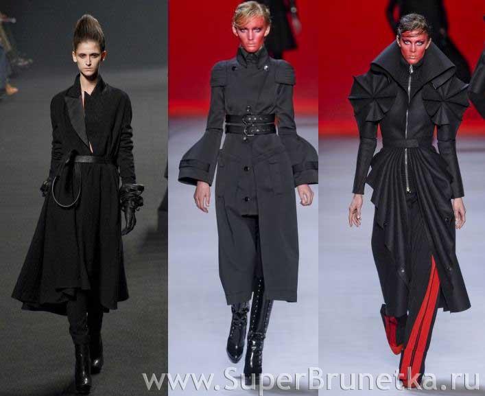 Модные пальто осень зима 2011 2012