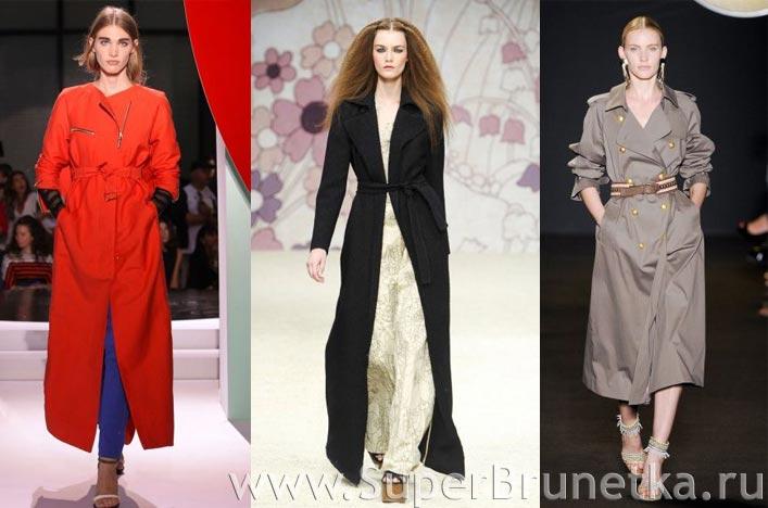 Пальто женские весна 2012