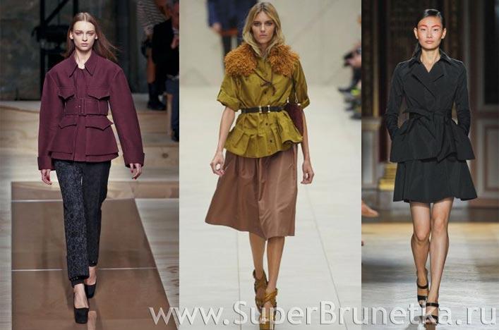 Модные пальто весна лето 2012