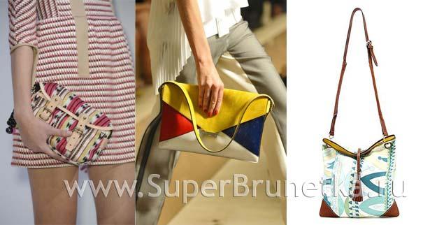 Модные сумки весна лето 2012