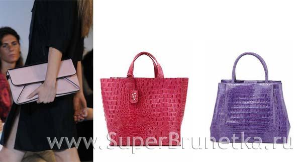 Модные сумки лето 2012  (24 фото)