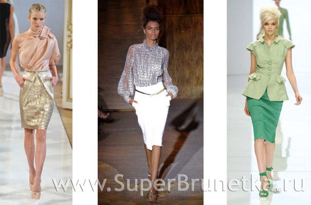 модные юбки 2012 фото