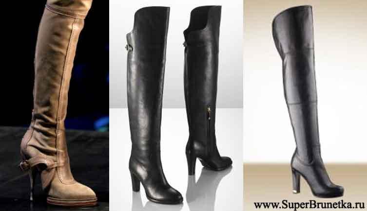 Модная обувь сезона зима 2010/2011