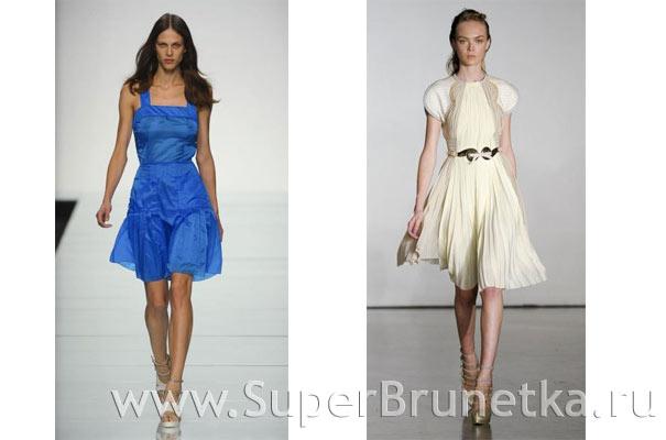 платья весна лето 2012 фото